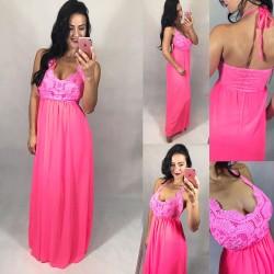 2c3f46271225 Neon růžové šaty Yes