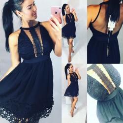 Černé šaty Romatic velikost jen M