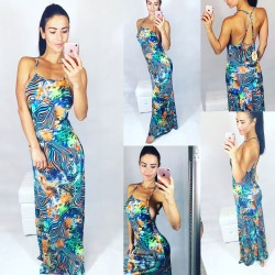 Maxi šaty LOOK