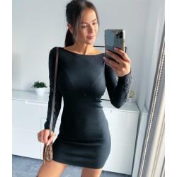 Černé šaty Sylva S/M