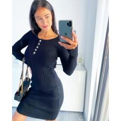 Černé šaty Evie velikost S/M