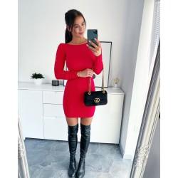 Červené šaty Sylva S/M