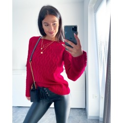 Rudý svetr Saly