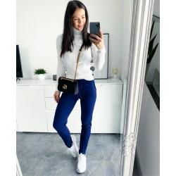 Tmavě modré kalhoty Smile S/M a M/L