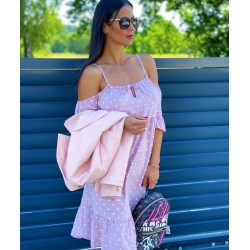 Růžové šaty Puntík