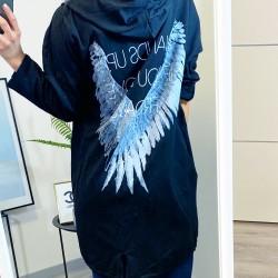 Černý cardigan Angel