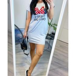Šedé šaty Cute
