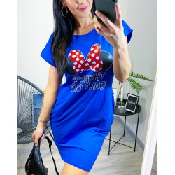 Modré šaty Cute