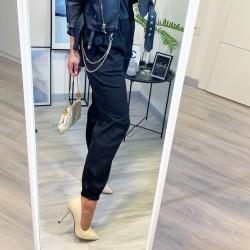 Černé cargo kalhoty