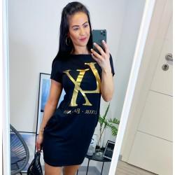 Černé šaty Luxury Brands