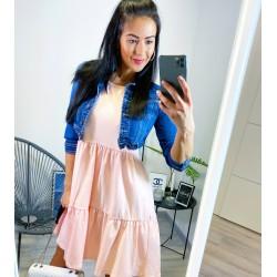 Růžové šaty Spring
