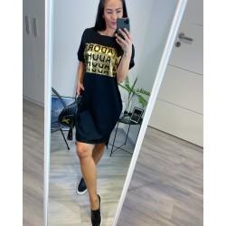 Černé šaty Jadore