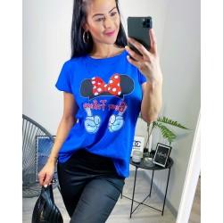 Modré triko Best