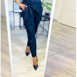 Černé kalhoty Stylo