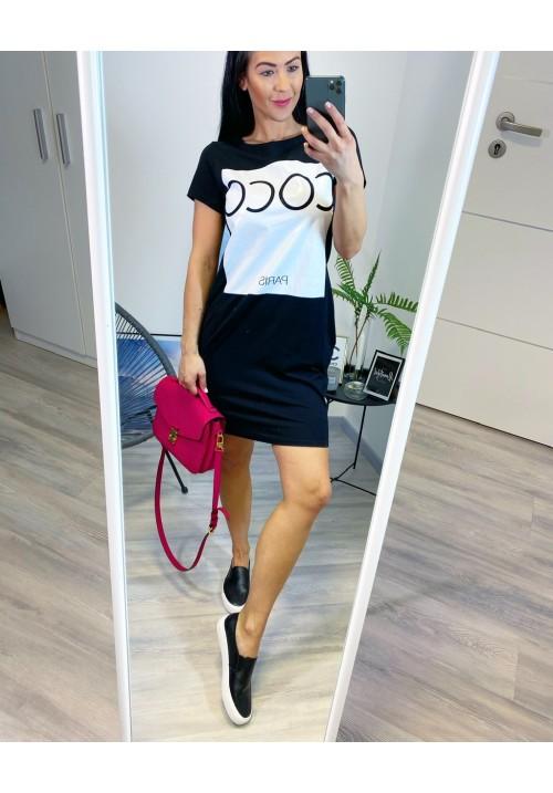 Černé šaty COCO