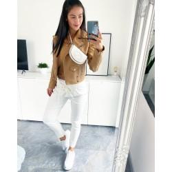 Bílé kalhoty Rain vel S a M