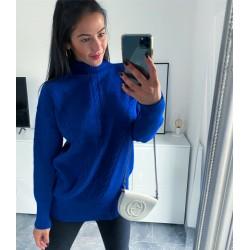 Modrý hřejivý svetr Gabriela