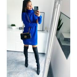 Královsky modré šaty Enjoy