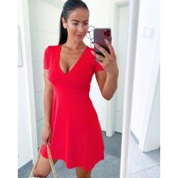 Rudé šaty Simons vel S