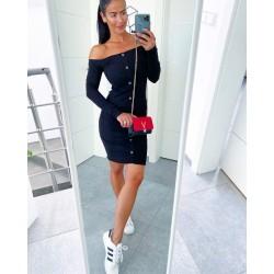 Černé šaty Luisa vel S