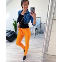 Neon oranžové kalhoty Summer