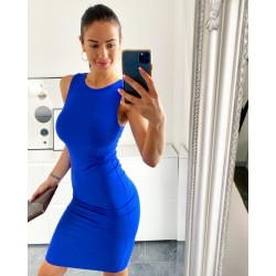 Královsky modré šaty Chloe vel S a M