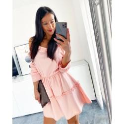 Světle růžové šaty Samanta