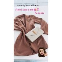 Růžové sako Bony