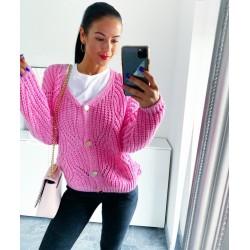 Růžový svetr Dona