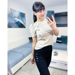 Světle krémové triko Puf
