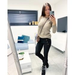 Černé kalhoty Valeri  vel S a M