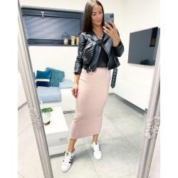 Růžová dlouhá sukně