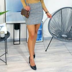 Károvaná pouzdrová sukně vel S a M
