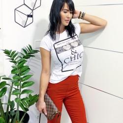 Bavlněné triko CHIC vel  M  L