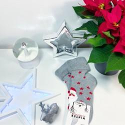 Silné teplé vánoční ponožky model C