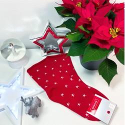 Silné teplé vánoční ponožky model E