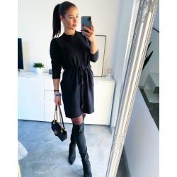 Černé luxusní šaty Erin