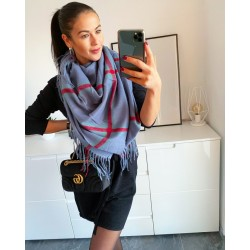 Maxi šátek Alex 100% kašmír model 8