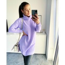 Lila šaty Merit