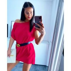 Rudé šaty Seňortia + dárek