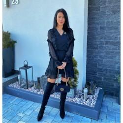 Černé šaty Sia XS/S