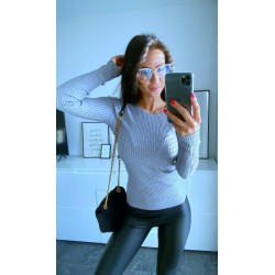 Šedý svetr Selena
