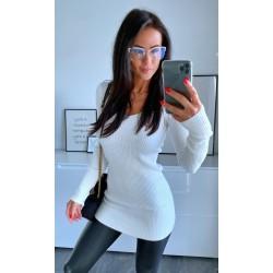 Bílé šaty Simona