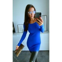 Královsky modré šaty Sabrina