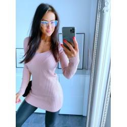 Baby pink šaty Simona
