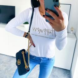 Bílé triko Hapinnes velikost S M L