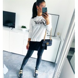 Bílo-černé šaty Great vel M