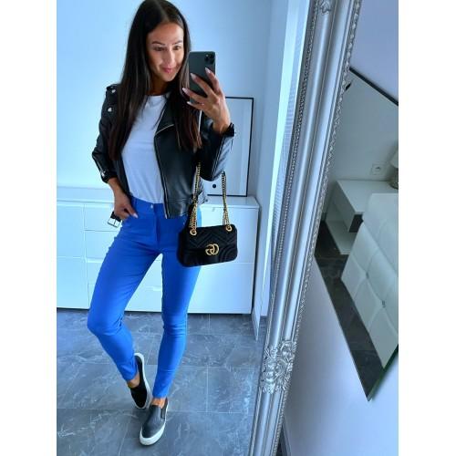 Modré basic kalhoty Know vel S a M