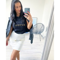 Bílá sukně Melory vel S a M
