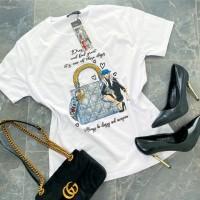 Bílé triko Shopping vel S M L